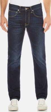 Men's Ed 55 Regular Tapered Jeans Coal Wash W30l34