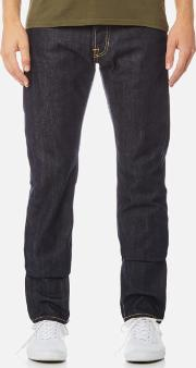 Men's Ed-55 Regular Tapered Rainbow Selvage Denim Jeans