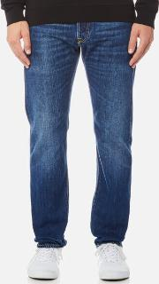 Men's Ed 55 Regular Tapered Rainbow Selvedge Jeans Kiyoshi Wash W30l34