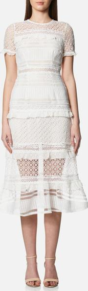 Women's Desdemona Midi Dress White