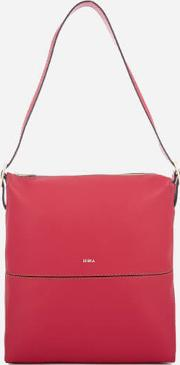 Women's Dori Small Hobo Bag Ruby