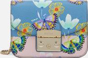 Women's Metropolis Mini Cross Body Bag Blueblush Print