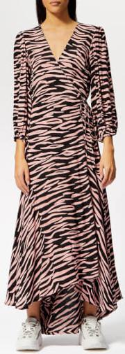 Women's Lindale Crepe Maxi Wrap Dress