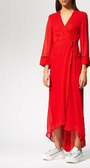 Women's Mullin Georgette Wrap Dress