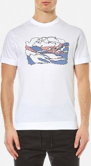 Men's By Numbers T Shirt White Xl White