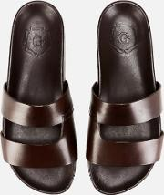 Men's Chadwick Hand Painted Leather Slide Sandals