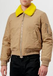 Men's Bomber Jacket Camel