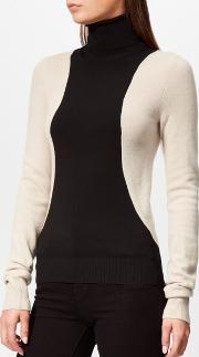 Women's Colorblock Turtleneck