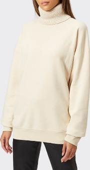 Women's Turtle Neck Sweater Canvas