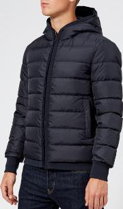 Men's Hooded Down Short Jacket