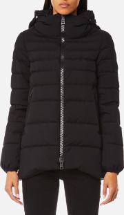 Women's Woven Half Down Coat