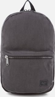 . Lawson Cotton Canvas Backpack Black