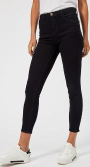 Women's Alana High Rise Cropped Skinny Jeans