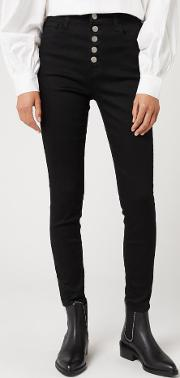Women's Lillie High Rise Crop Skinny Jeans