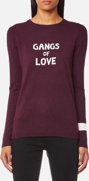 X Bella Freud Women's Gangs Of Love Jumper