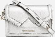 women's kklassik mini cross body bag champagne