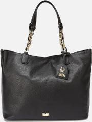 Women's Kgrainy Hobo Bag Black
