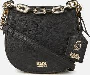 Women's Kgrainy Satchel Bag Black