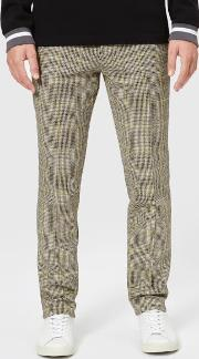 Men's Check Trousers