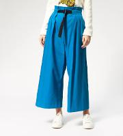 Women's Cropped Belted Pants