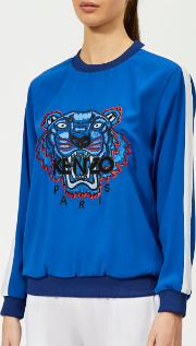 Women's Soft Sweater Tiger Embroidery