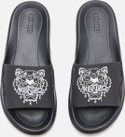 Women's Tiger Head Pool Sliders