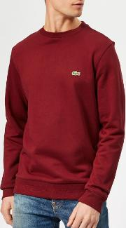 Men's Classic Embossed Logo Crew Sweatshirt