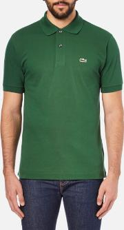 Men's Short Sleeve Pique Polo Shirt Chlorophyll
