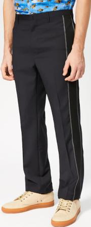 Men's Ribbon Striped Trousers