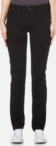 women's 712 slim jeans black sheep w28l32 black