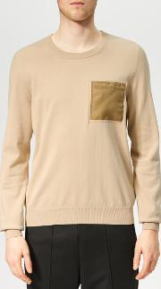 Men's Pocket Knit Jumper
