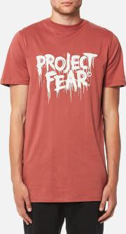 Men's Discord Project Fear T Shirt Rust