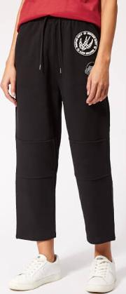 Women's Knee Patched Pants