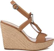 Women's Darien Wedged Sandals Cashew