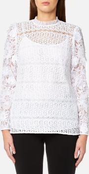 Women's Lace Mix Blouse