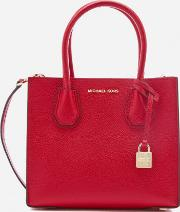 Women's Mercer Medium Messenger Bag Bright Red