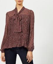 Women's Prairie Vine Bow Blouse