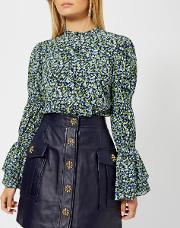 Women's Tiny Wild Flower Shirt