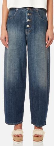 Women's Button Fly Jeans