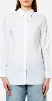 Women's Double Collared Button Back Shirt