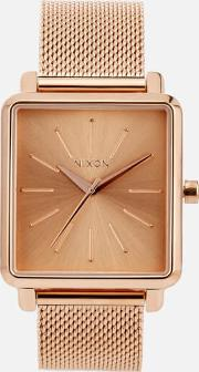 Womens The K Squared Milanese Watch Rose