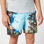 Men's Bulldog Photographic Swim Shorts