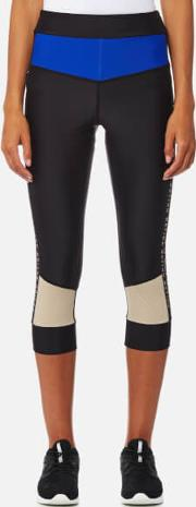 women's cure ball crop leggings taupe s black