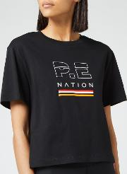 Women's Ignition Cropped Short Sleeve T-shirt