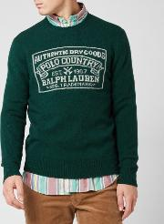 Men's Country Dried Goods Wool Jumper