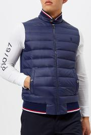 Men's Double Knit Nylon Tech Gillet French
