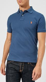 Men's Slim Fit Mesh Polo Shirt