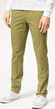 Men's Stretch Military Chinos