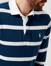 Men's Striped Rugby Top Holiday