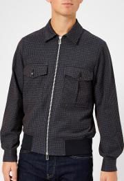 Men's Bomber Jacket Indigo